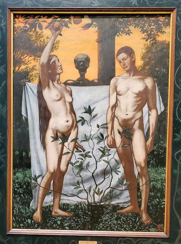 『アダムとイブ』 (Adam and Eve) by ハンス・トーマ