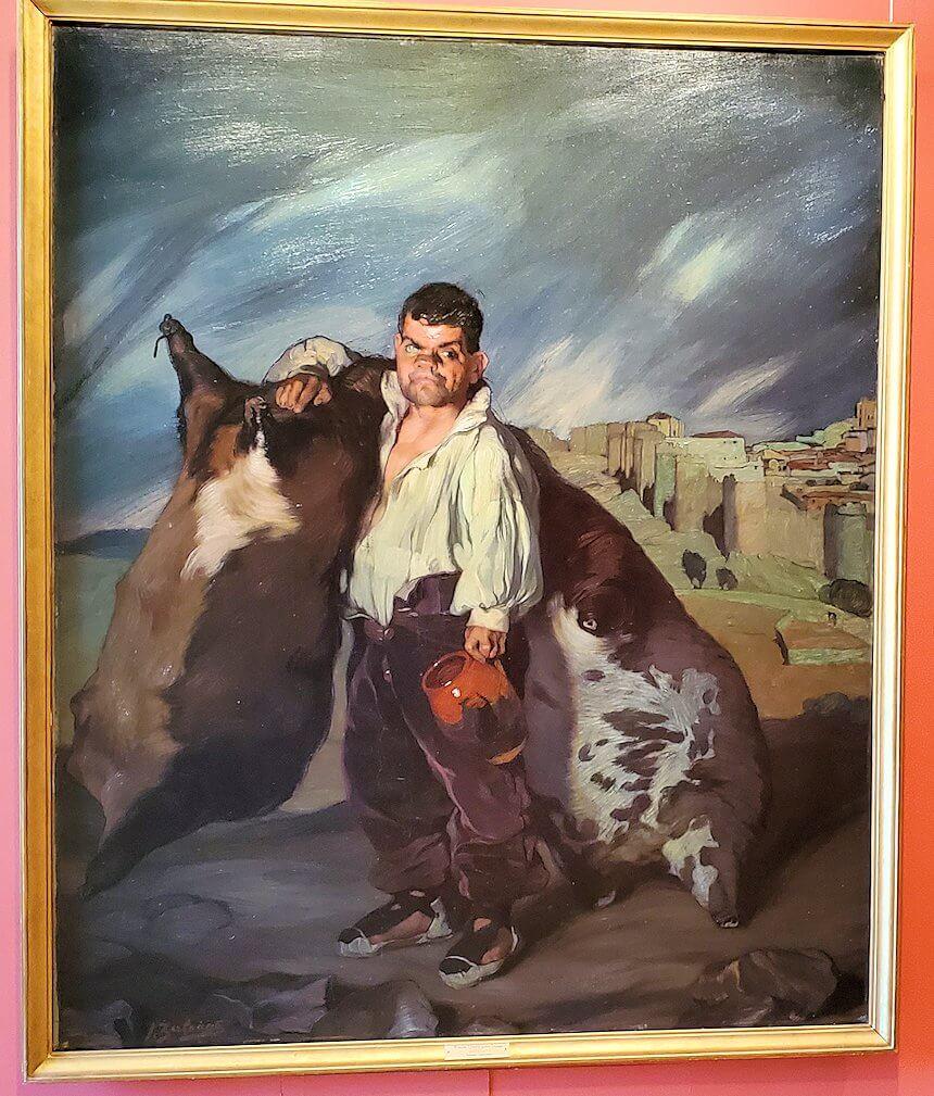 『小人グレゴリオ』 (Dwarf Gregorio) by イグナシオ・スロアガ