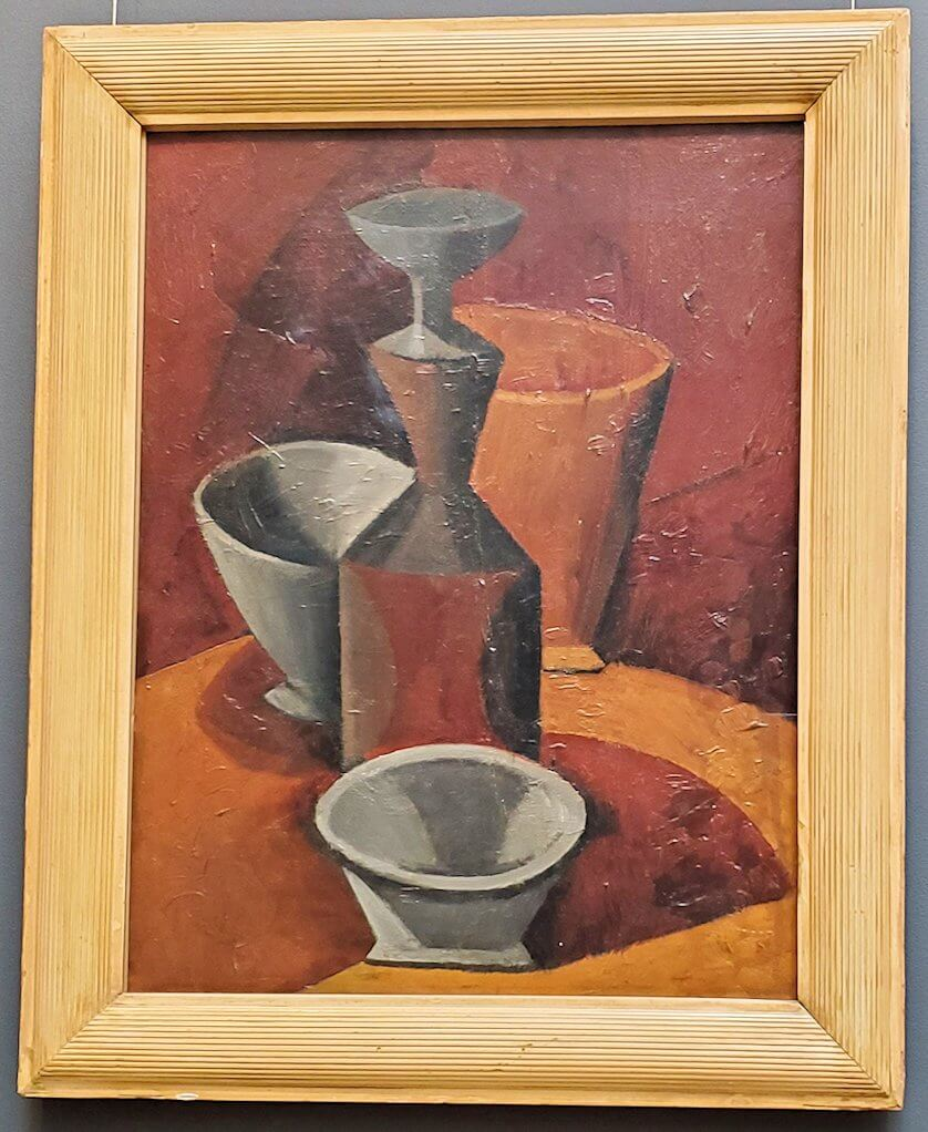 『水差しとボウル』 (Pitcher and Bowls) by パブロ・ピカソ