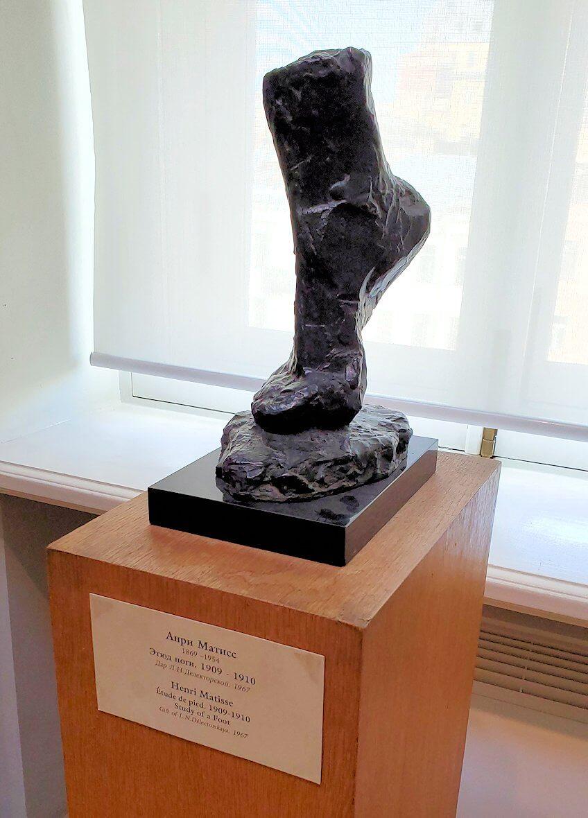 『足の研究』 (Study of a Foot) by  アンリ・マティス