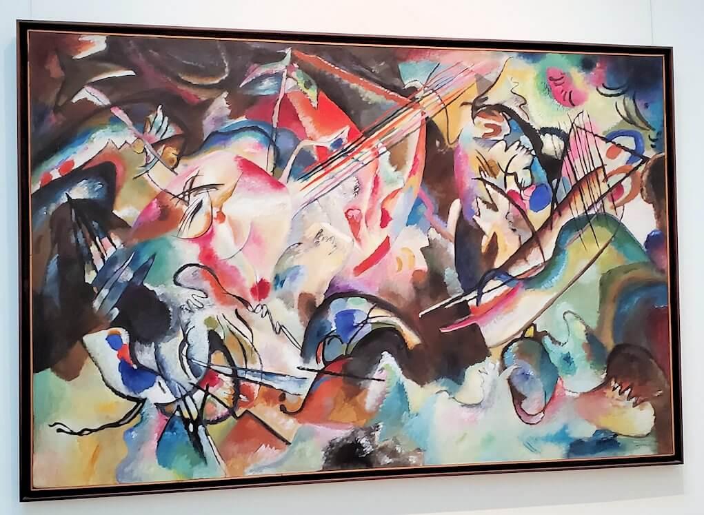 『コンポジション6』 (Composition VI) by  ワシリー・カンディンスキー