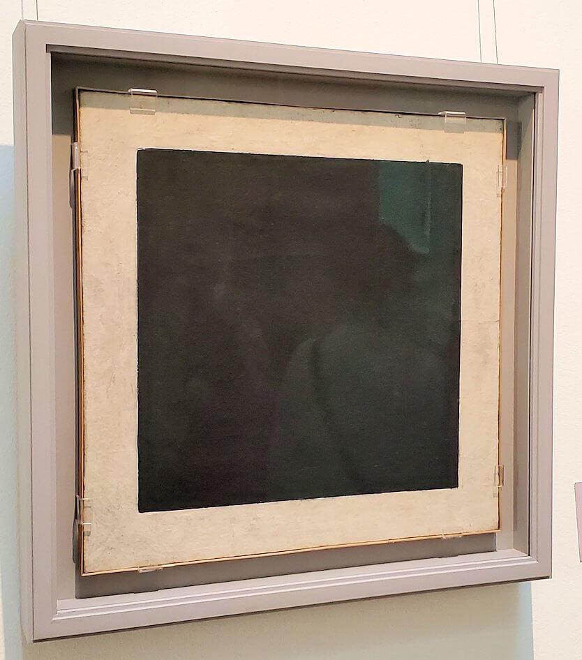 『黒の正方形』 (Black Square) by カジミール・マレーヴィチ