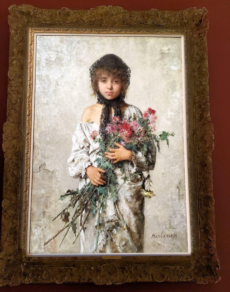 アレクセイ・ハラモフ(Alexei Harlamoff)というロシア人画家の作品