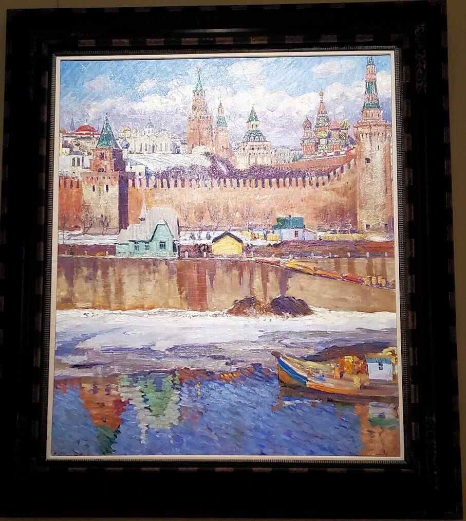 ファベルジュ博物館で再び絵画ルームに飾られている絵画-2