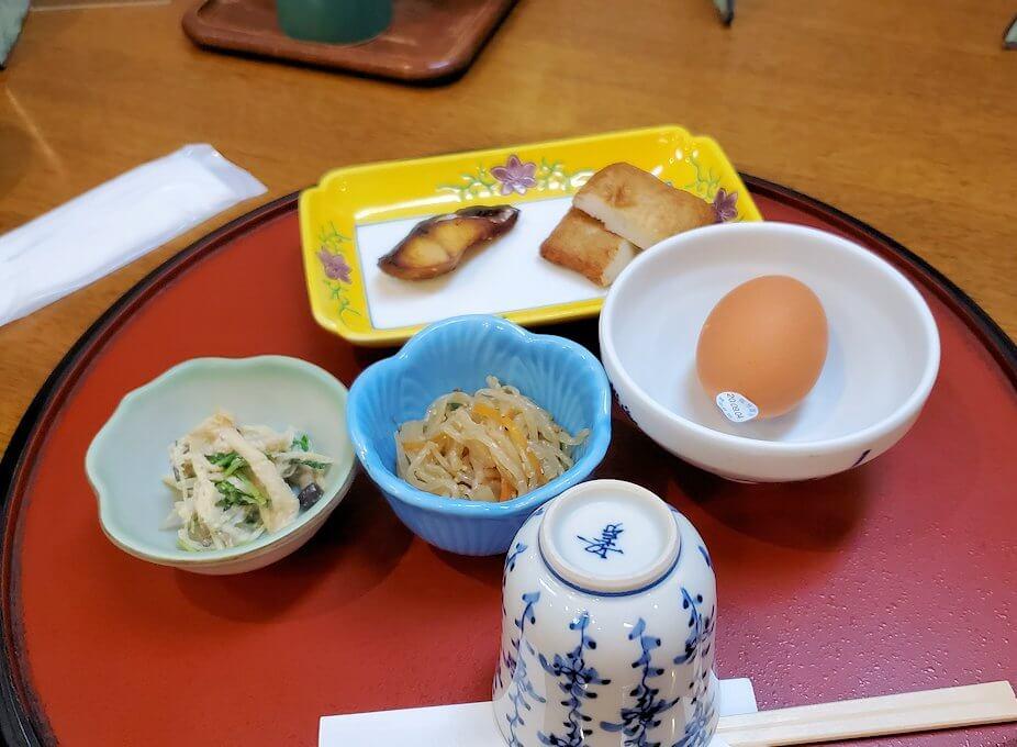 南州館ホテルの和食朝食