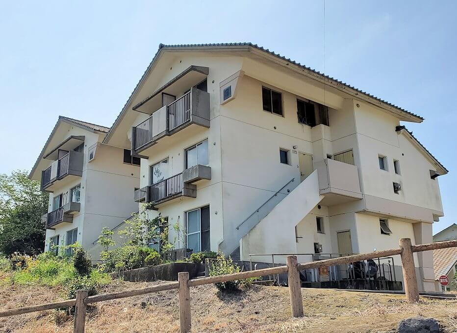 桜島にあった宿舎