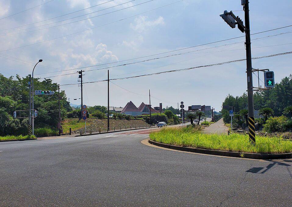 桜島でサイクリング途中に見える景色