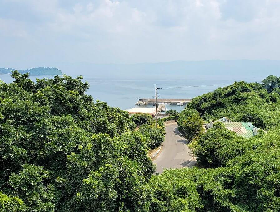 桜島北東部から黒神町を目指す