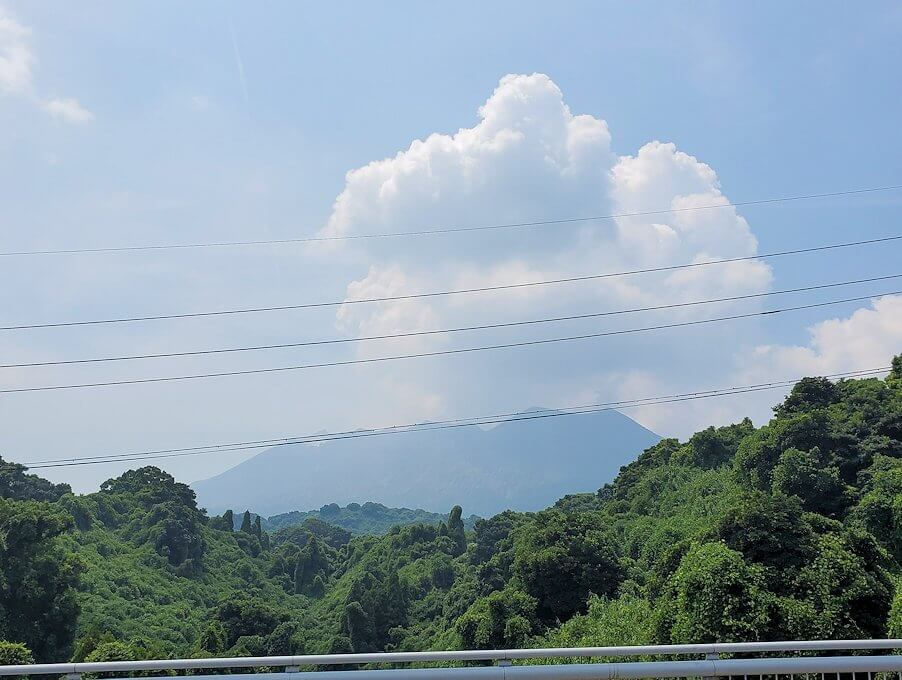 桜島北東部から黒神町を目指す-1