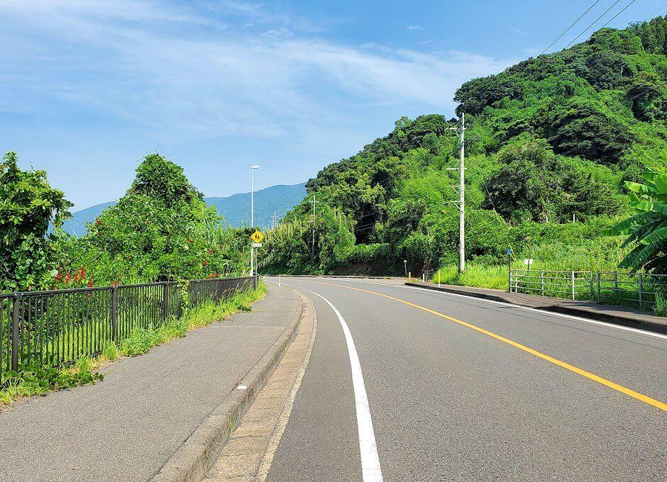 桜島サイクリングで垂水地区からの景色-1