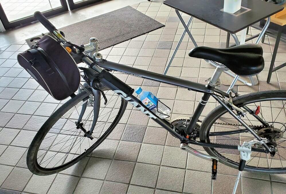桜島サイクリングで頑張ってくれた相棒の自転車