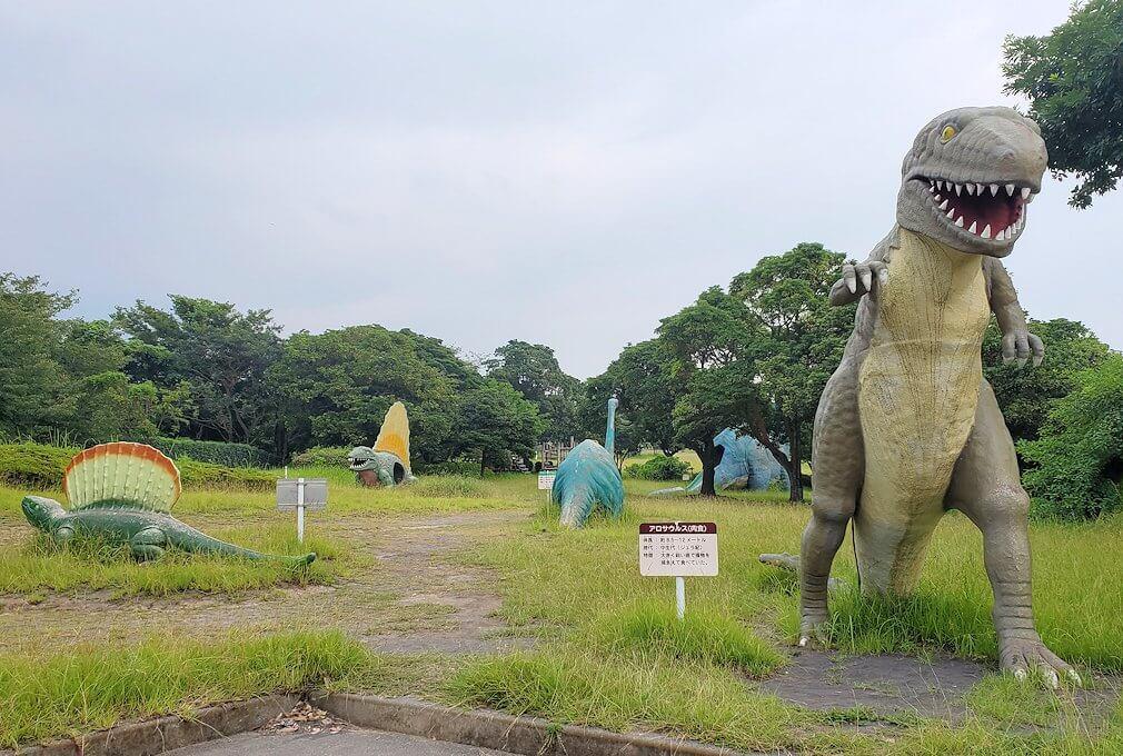 桜島自然恐竜公園の景色