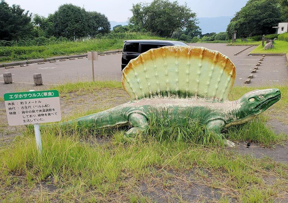 桜島自然恐竜公園にある恐竜