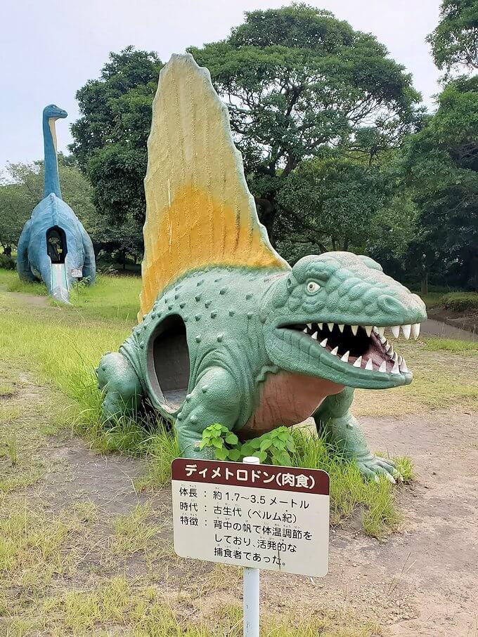 桜島自然恐竜公園にある恐竜-1
