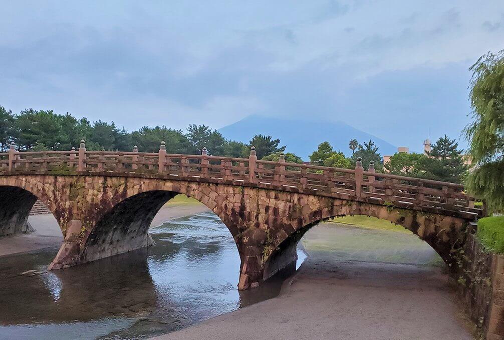 石橋記念公園に架かる西田橋