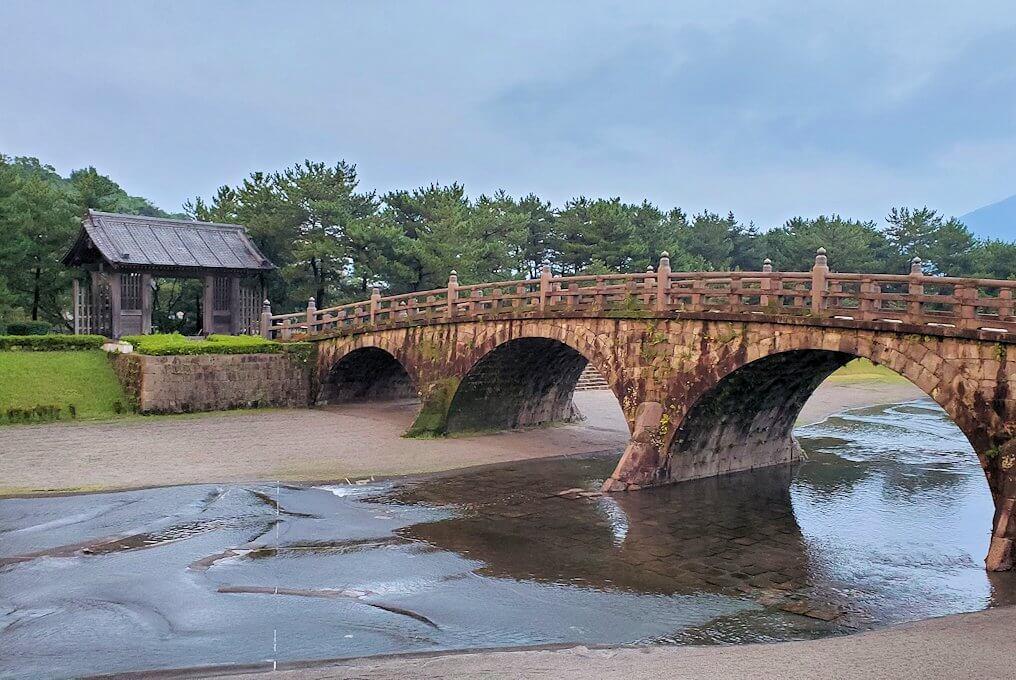石橋記念公園に架かる西田橋-1