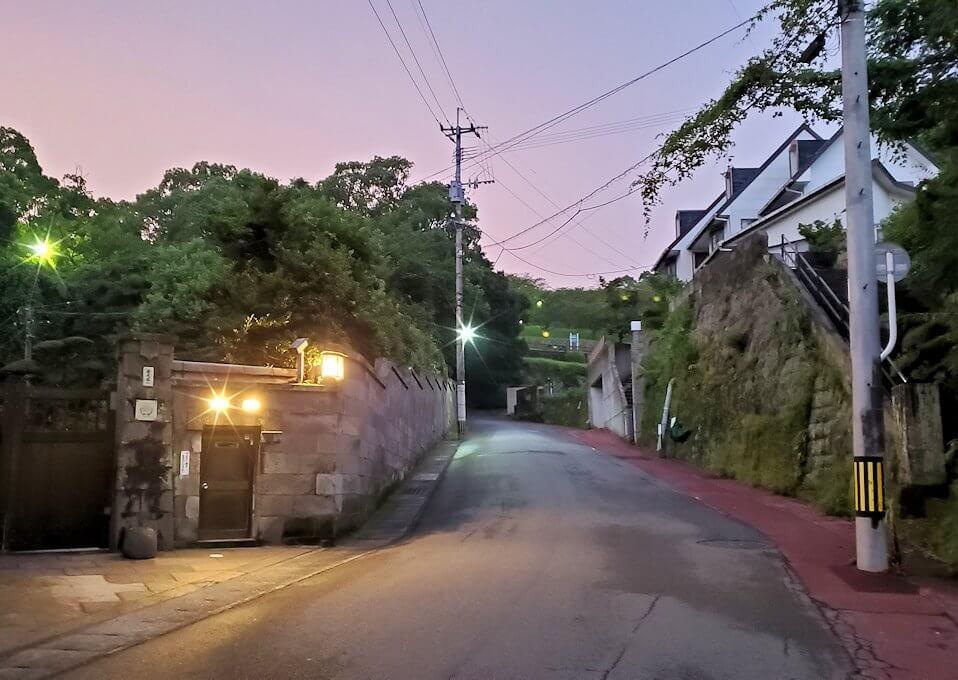 鹿児島市内北側の多賀山を目指す