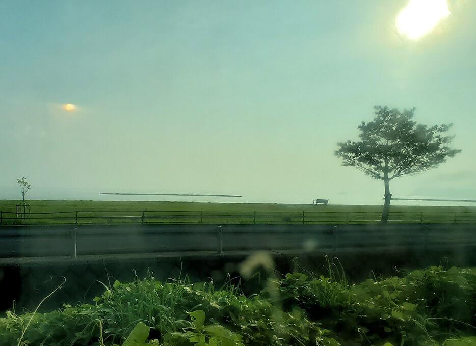 JR指宿枕崎線で途中に見える景色-1