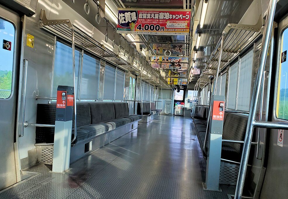 JR指宿枕崎線で全然乗客がいない車内