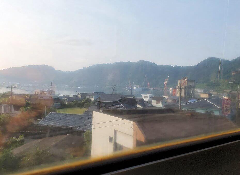 JR指宿枕崎線で途中に見える景色-2