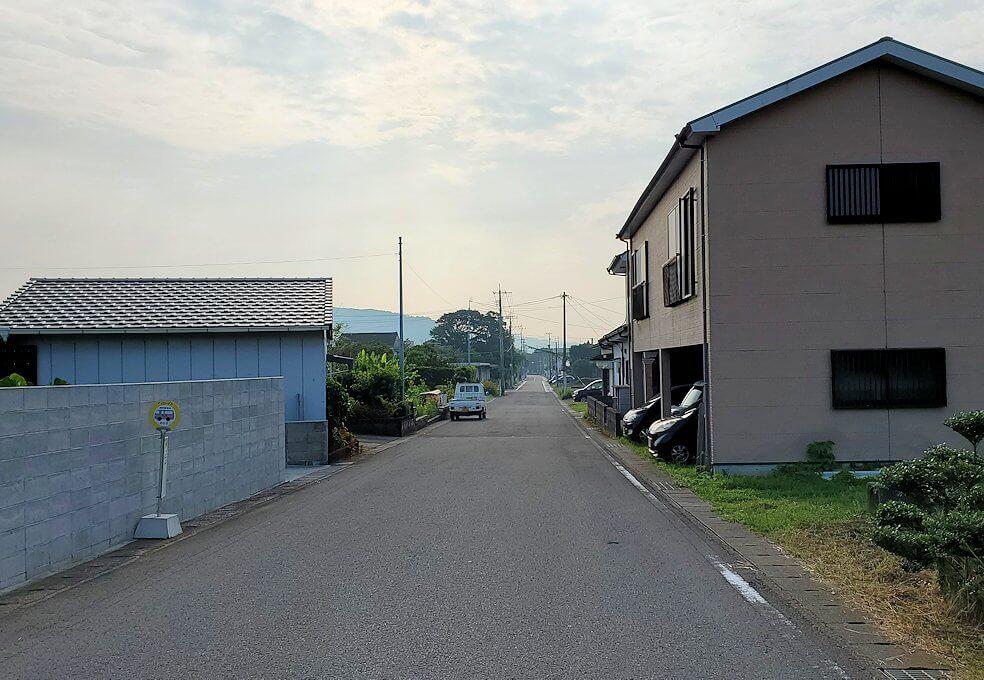 開聞駅から開聞岳まで徒歩で移動
