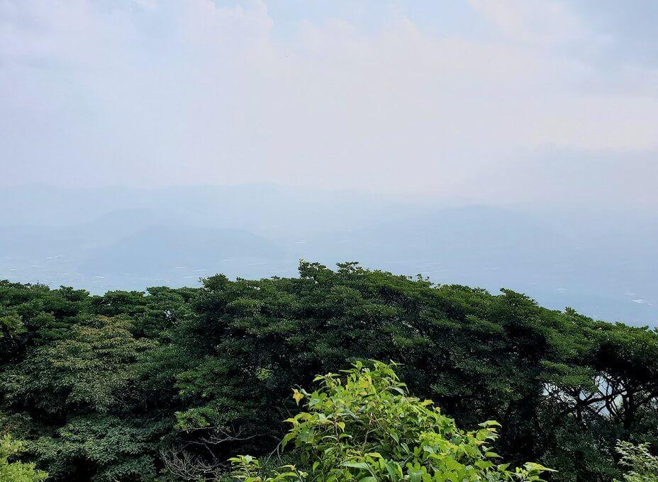 開聞岳登山道5合目からの景色-1