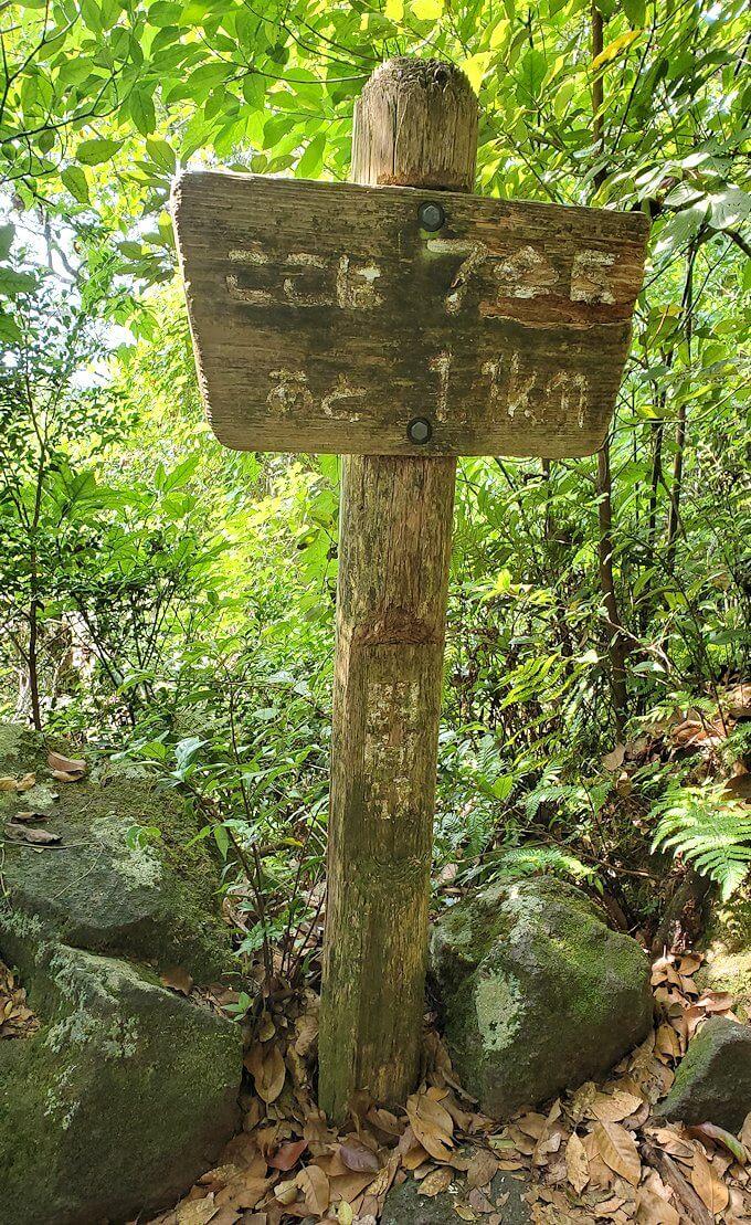開聞岳登山道7合目に到着
