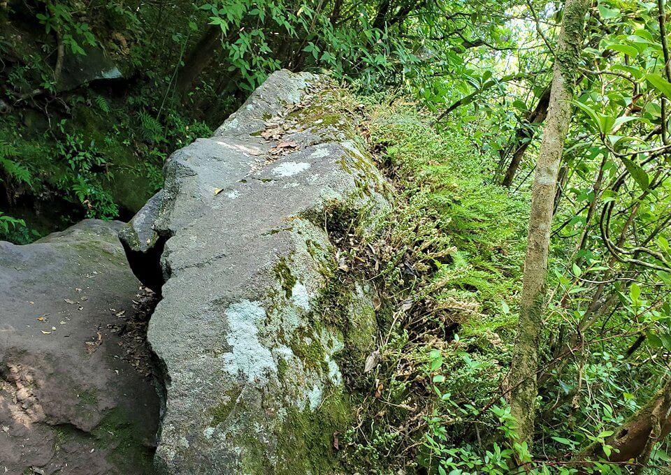 開聞岳8合目から更に登る1