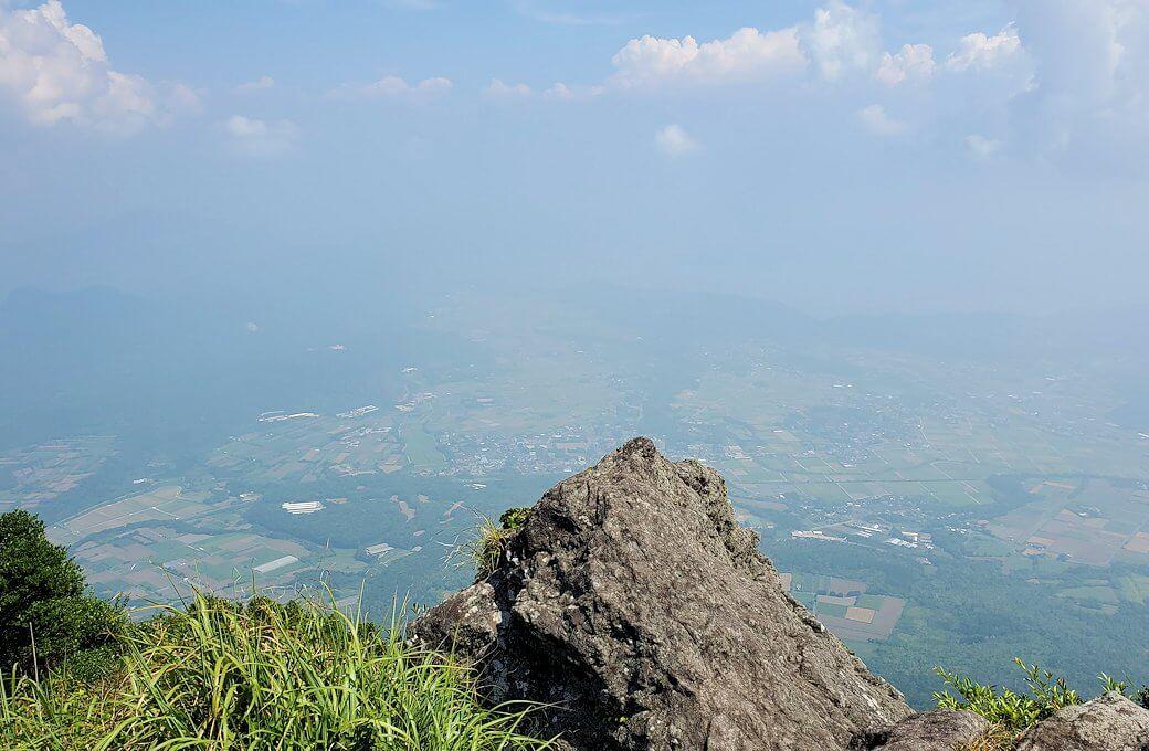 開聞岳頂上からの景色1