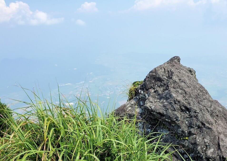 開聞岳頂上からの景色2