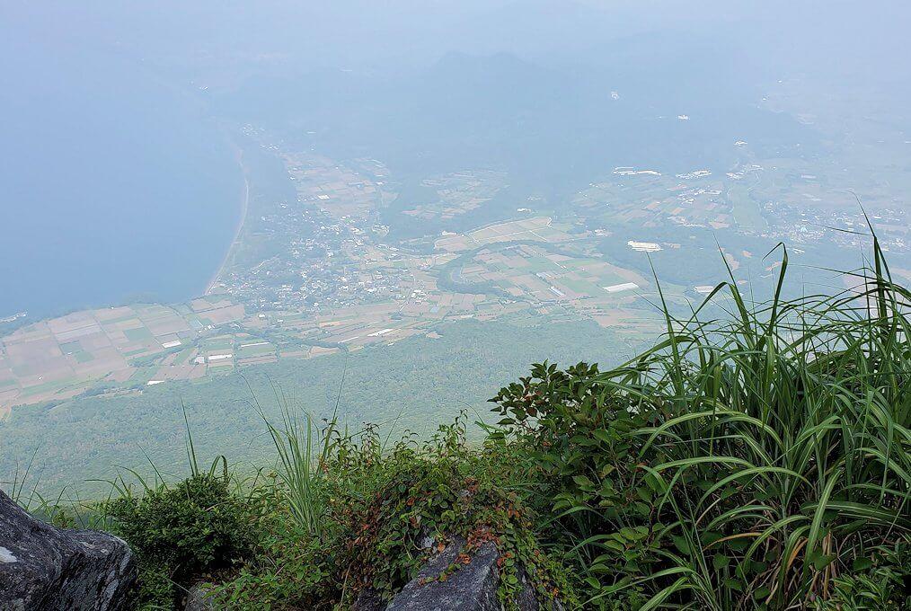 開聞岳を下山しながら見えた景色2