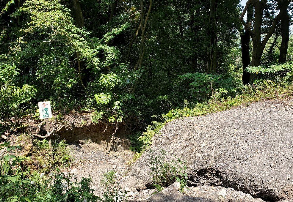 開聞岳下山途中3合目の景色2