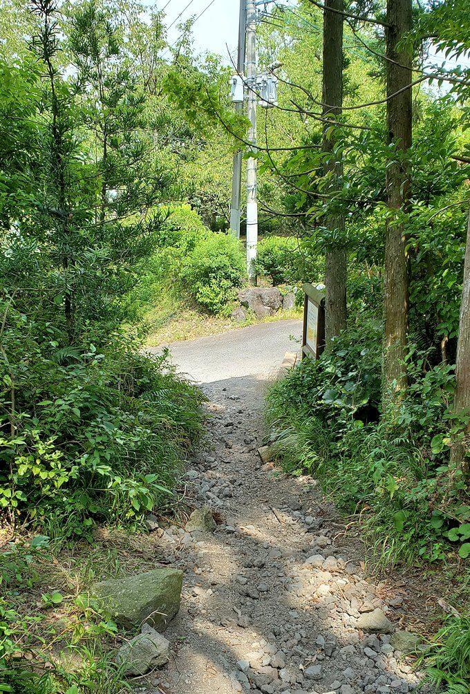 開聞岳下山途中2.5合目の景色2