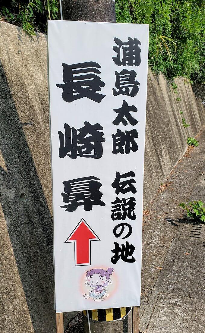 鹿児島で長崎鼻近くを進む1