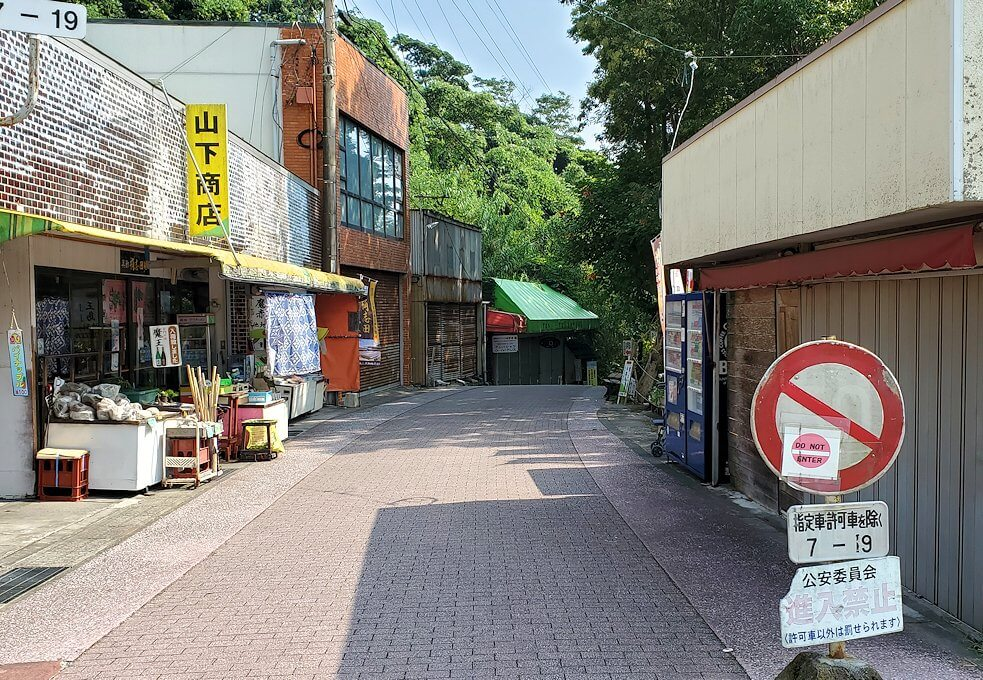 鹿児島で長崎鼻に到着