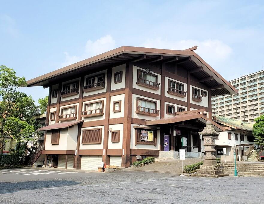 鹿児島市内の照国神社にある資料館