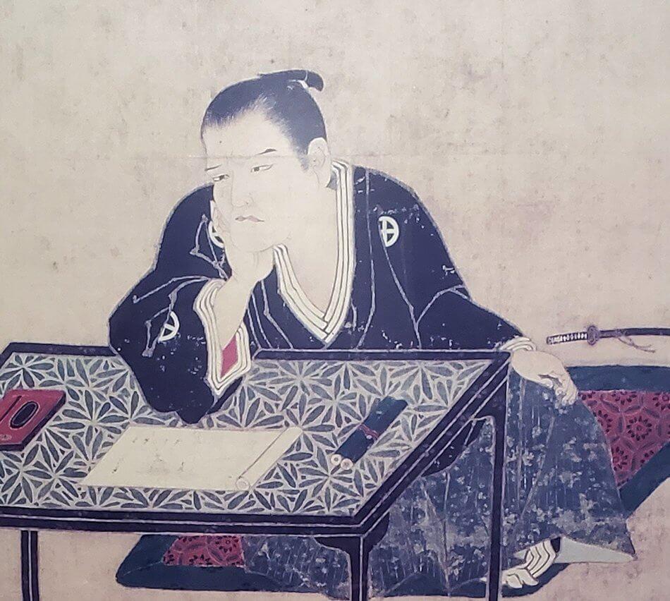 資料館にある島津斉興の肖像画1
