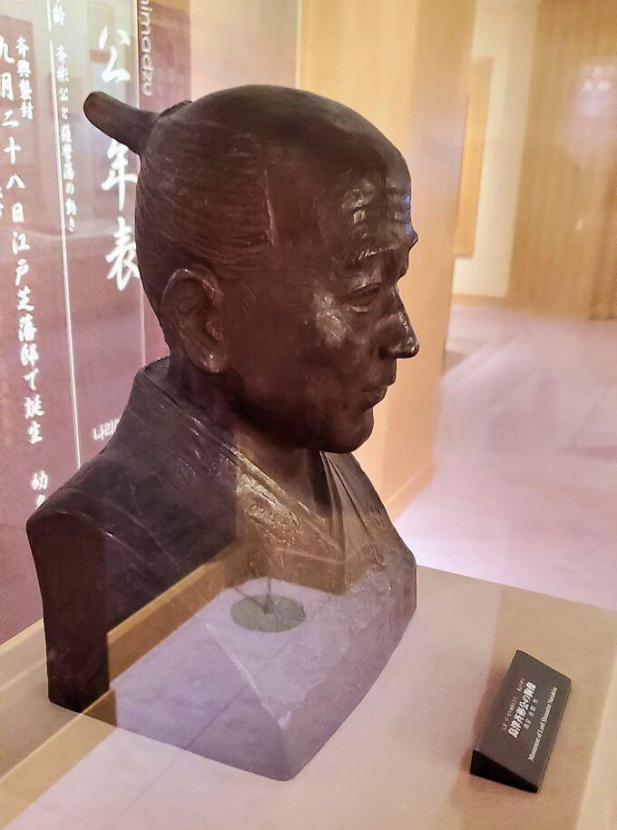島津斉彬の胸像1