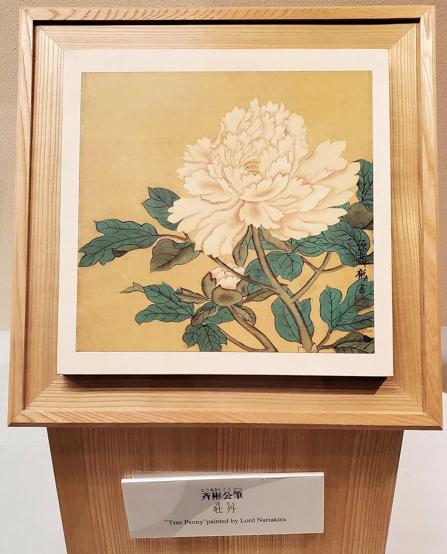 斉彬公自筆の絵画3
