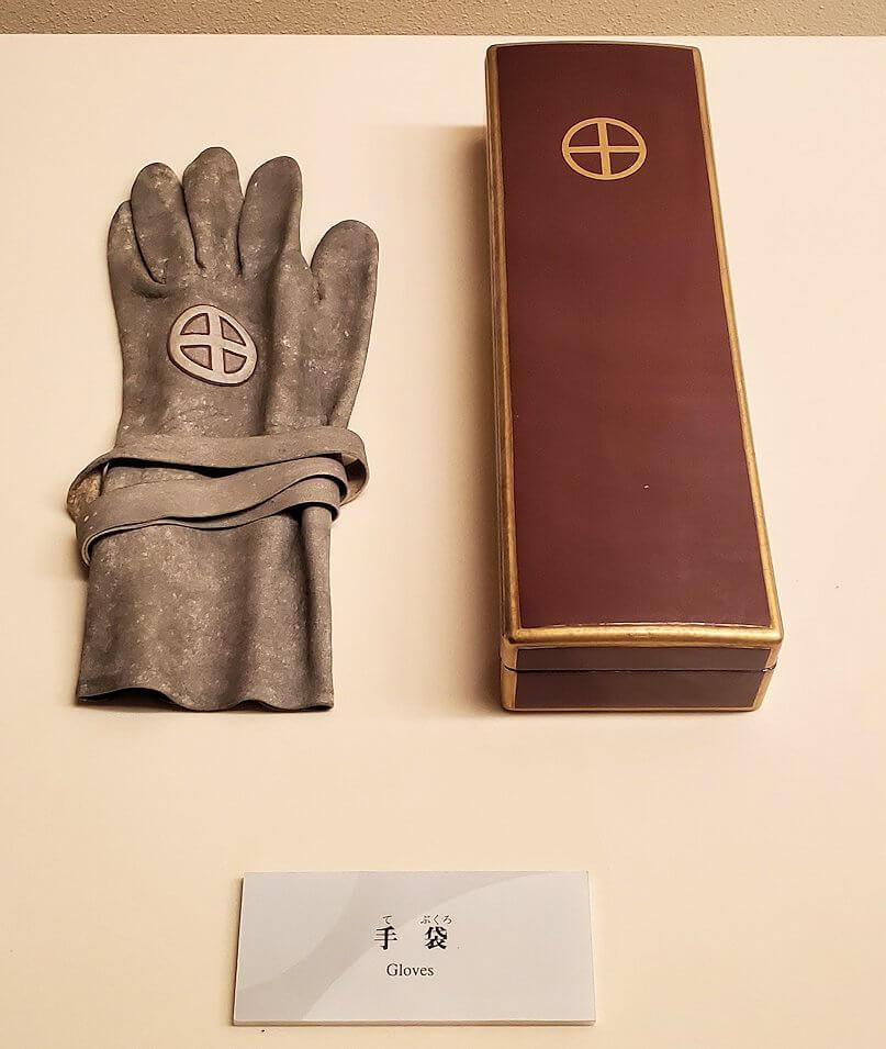 斉彬公の残した手袋