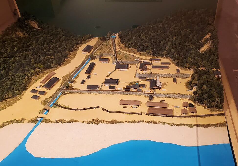 集成館跡の模型1