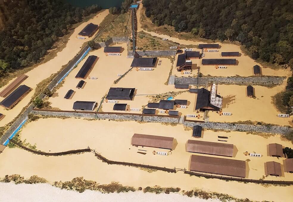 集成館跡の模型2