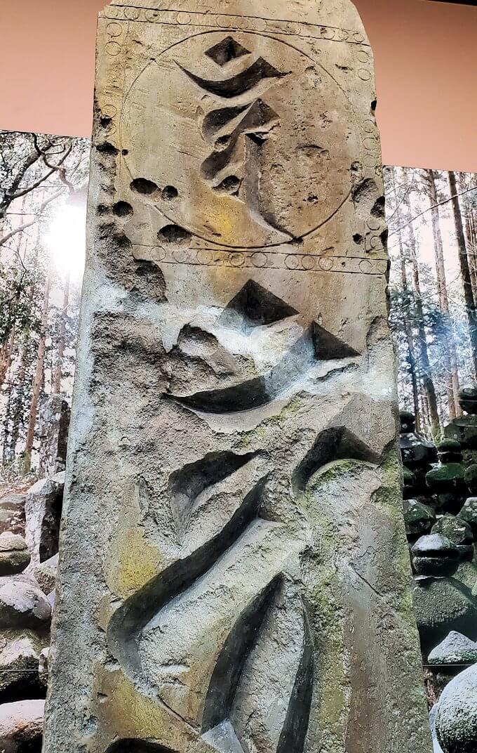 鹿児島にあった古い柱1