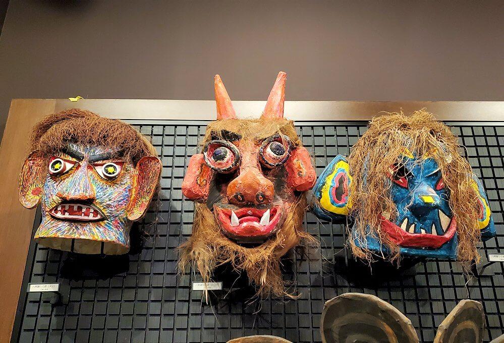 黎明館にある、鹿児島に昔から伝わる祭の衣装1