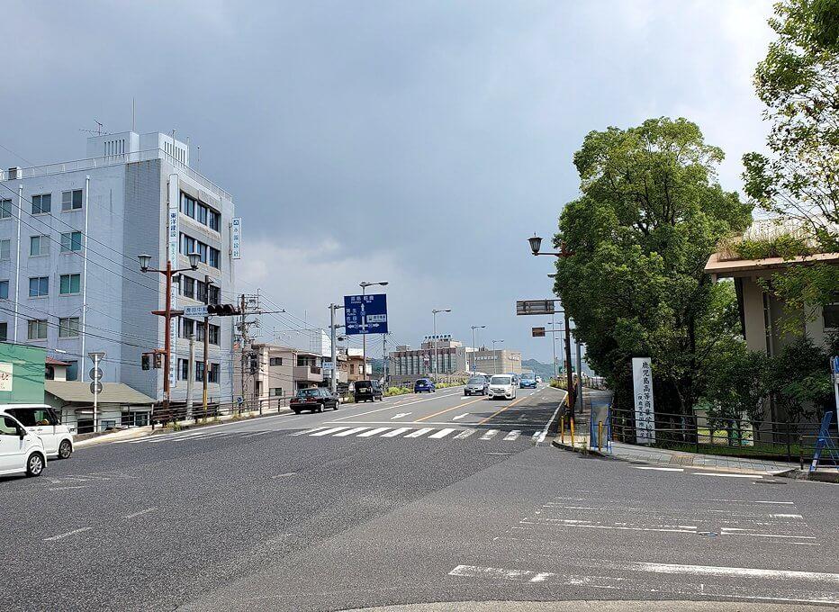 鹿児島市内を徒歩で移動