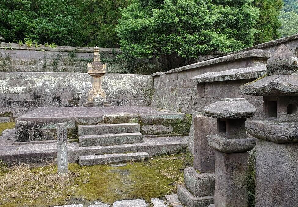 福昌寺内の景観