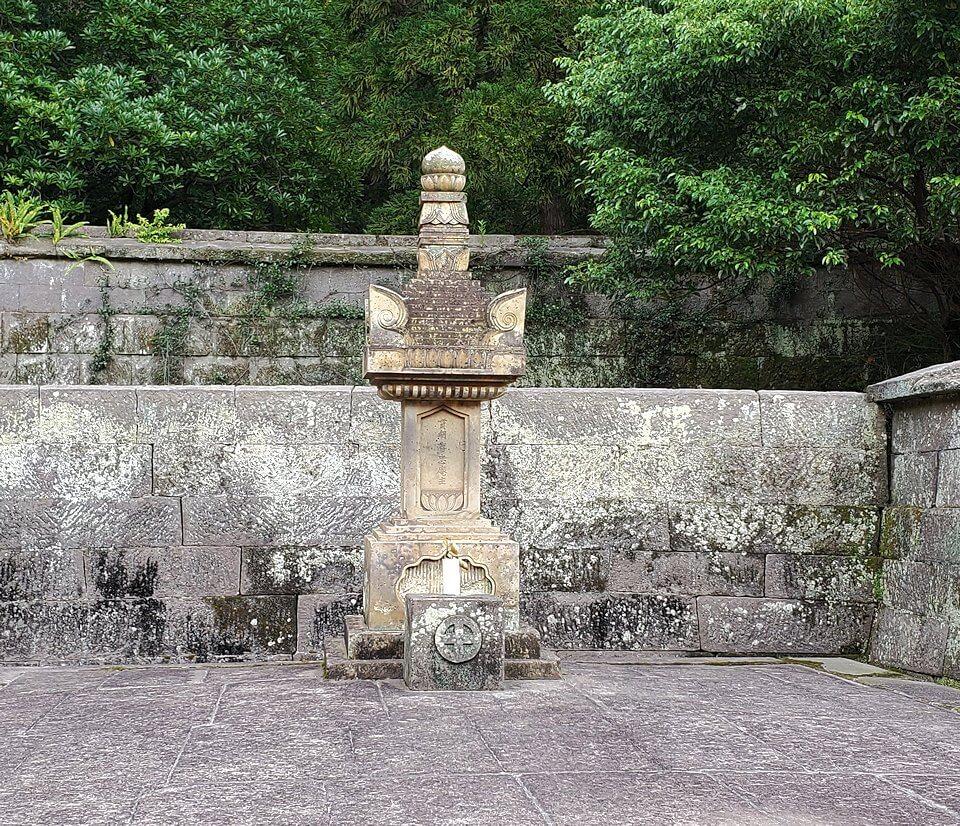 福昌寺内の景観1
