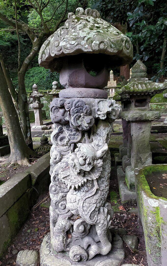 福昌寺跡の島津家お墓を見て回る1
