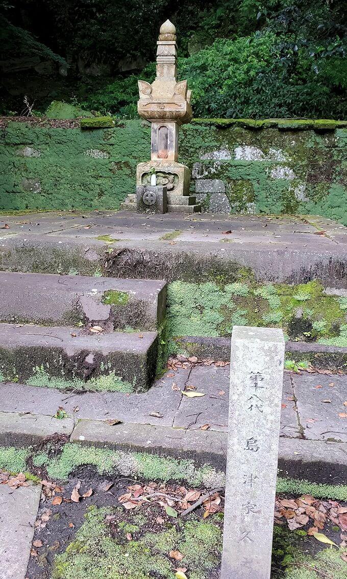福昌寺跡の島津家お墓を見て回る5
