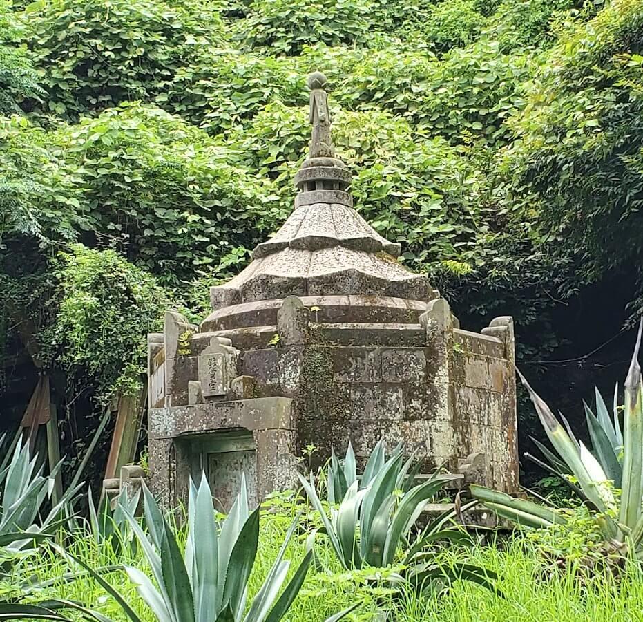 福昌寺跡近くにあるキリシタンの墓を見に行く2